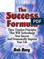 The Success Formula - Bob Burg