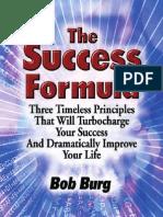 The Success Formula - Bob Burg