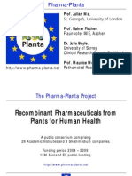 Pharma Plant A Press Briefing July 2011