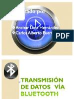 Transmision de Datos via Bluetooth
