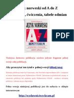 Język norweski od A do Z - gramatyka, ćwiczenia, tablice odmian
