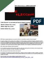 ENTREVISTA LIBRE ELECCIÓN