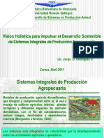 Sistemas Integrales de Producción Agropecuaria