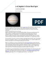 Transit Times of Jupiter's Great Red Spot