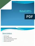 Retail KPI's