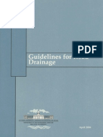 Guidelines on Road Drainage