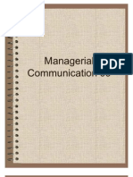 Managerial Communication 09 Long Reports