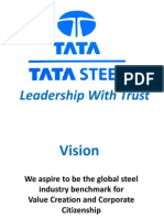 TATA STEEL - Leadership With Trust