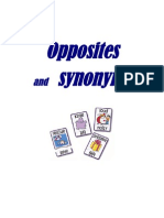 Opposites and Synonyms