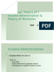 Theory of Multiplier 2