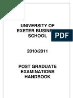 PG Examination_handbook 2010-11