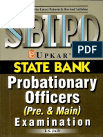 Upkar's Sbi Po (Pre and Main Exam by t.s Jain)(2)