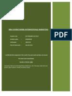 10019750 International Marketing