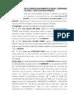 Documento Privado Sobre Reconocimiento de Deuda