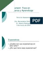 Assessment FocoenelAprendizaje