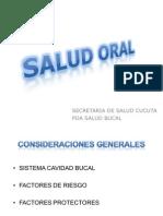Catedra Salud Oral Secretaria de Salud municipal Cúcuta
