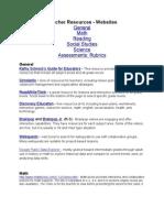 Resources - Websites