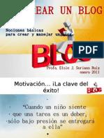 Taller Maestros - Cómo crear mi blog - REVISADO 2011