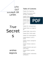 True Secrets Novel