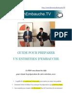 Guide Entretien Embauche Recrutement Questions