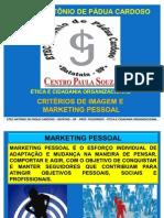 Ética e Cidadanida Organizacional Marketing Pessoal
