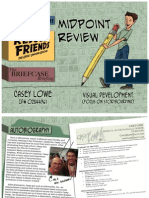 Midpoint Review Presentation Book