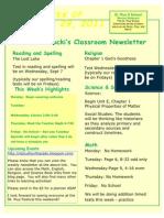 Aug 29 Newsletter