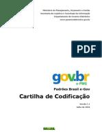 Padrões Brasil e-GOV - Cartilha de Codificação