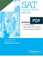 Official SAT Practice Test 2007-08 wAnswers