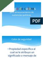 Código de colores SST sub