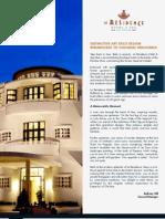 La Residence Hue, Hotel and Spa Vietnam Fact sheet