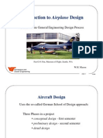 Introduction to Airplane Design
