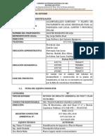 """Resumen ejecutivo del Proyecto """"SISTEMA DE ALCANTARILLADO SANITARIO Y PLANTA DE TRATAMIENTO DE AGUAS RESIDUALES PARA LA PARROQUIA SAN LUCAS"""""""