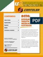 Regulacion d Tension en Instalaciones Electric As Centelsa