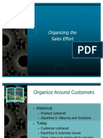 Organizing the Sales Effort
