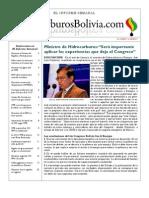 Hidrocarburos Bolivia Informe Semanal Del 22 Al 28 Agosto 2011