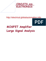 MOSFET Amplifier Large Signal Analysis