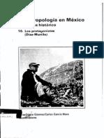 1988-Ignacio Marquina; Biografía. Román Piña Chan y Alejandro Villalobos