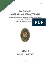 Bahan Kuliah Administrasi Peradilan Agama