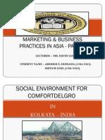 Kolkata - Social Environment