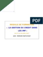 Aide_mémoire GESTION CREDIT final