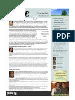Newsletter 2008 10October