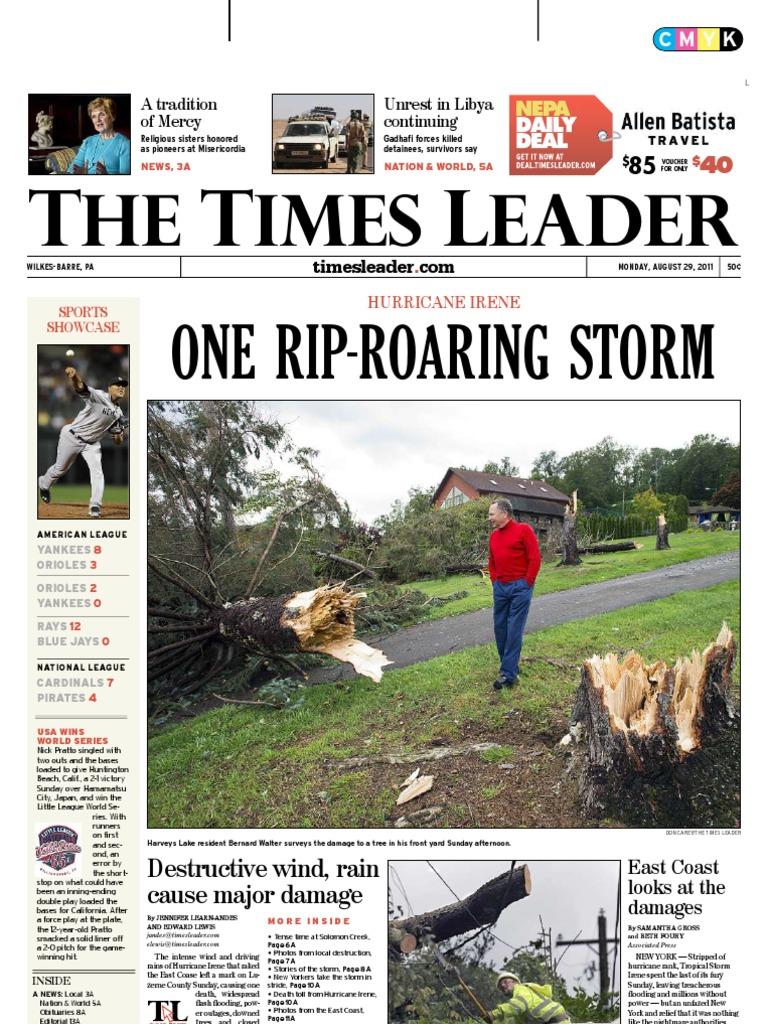 times leader 08-29-2011 | powerball | bahrain