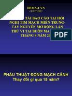 18a.phau Thuat Dong Mach Canh Qua 15 Nam
