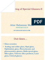 Manufacturing of Special Glasses-II PDF