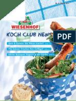 Wiesenhof Kochclub 39 | August 2011