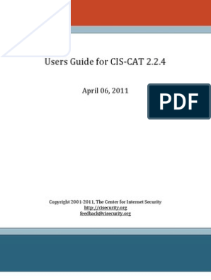Cis Cat Users Guide | Group Policy | Command Line Interface