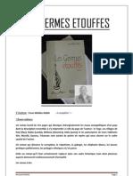 Les Germes Etouffes de E. AGBA