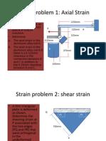 Strain Problems