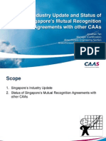 Industry Update Mutual Recognition - CAAS